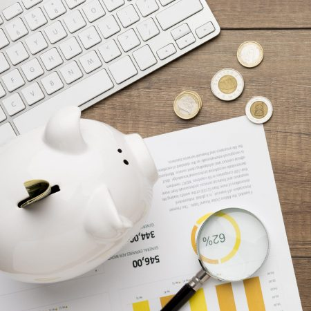 concept-of-economy-with-piggy-bank-copy-space
